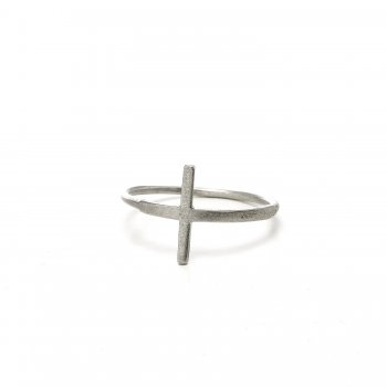 large+cross+ring%2C+sterling+silver%2C+size+8