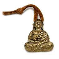 buddha house blessing in brass