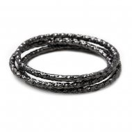 karma sparkle rings: charcoal
