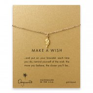 make a wish torch bracelet, gold dipped
