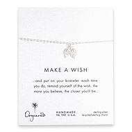 make a wish angel wings bracelet, sterling silver