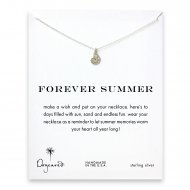 forever summer nautilus shell necklace, sterling silver