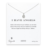 I have angels angel necklace, sterling silver
