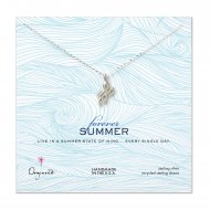 forever summer octopus necklace, sterling silver