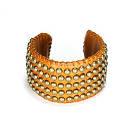100 good wishes studded tobacco cuff